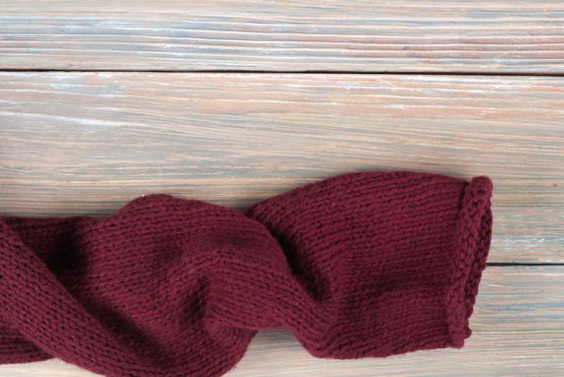 Come rimediare a un maglione infeltrito
