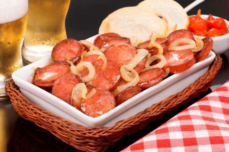 Ricetta: salsicce in umido