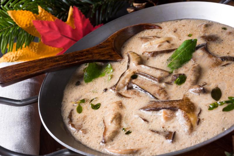 Bimby: come fare la salsa ai funghi porcini