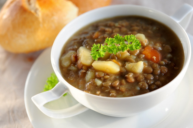 Zuppa di legumi con il bimby