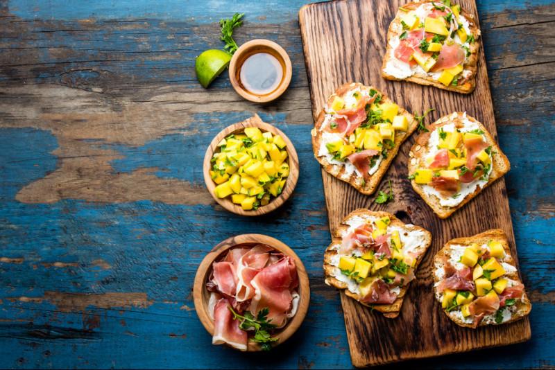 5 antipasti veloci con il pan carrè