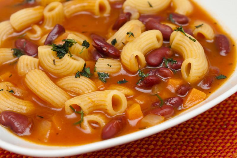 Come preparare la pasta e fagioli con il bimby