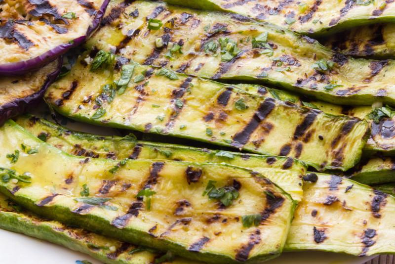 Come conservare le zucchine grigliate