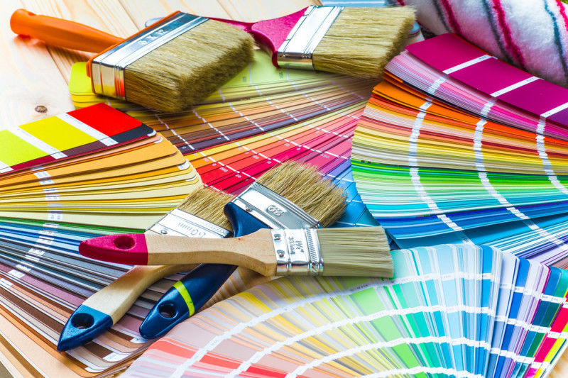 Come comporre colori per dipingere pareti