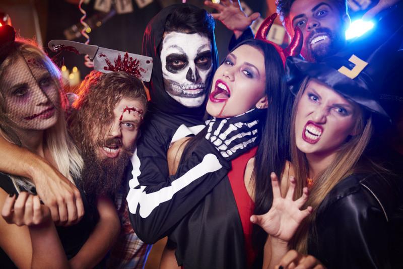Le maschere più gettonate di Halloween