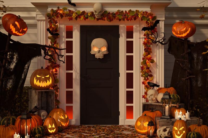 Come decorare la casa ad Halloween con materiale di riciclo