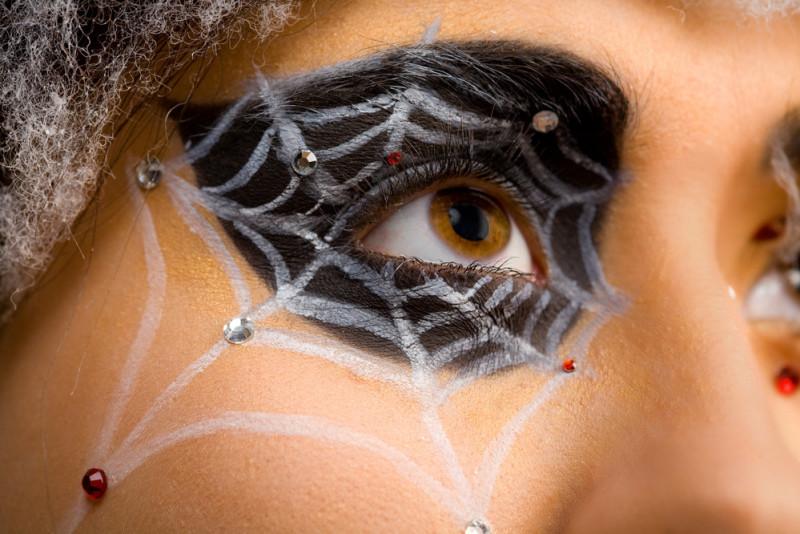 Come truccare gli occhi per Halloween