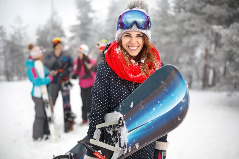 Come praticare lo snowboard