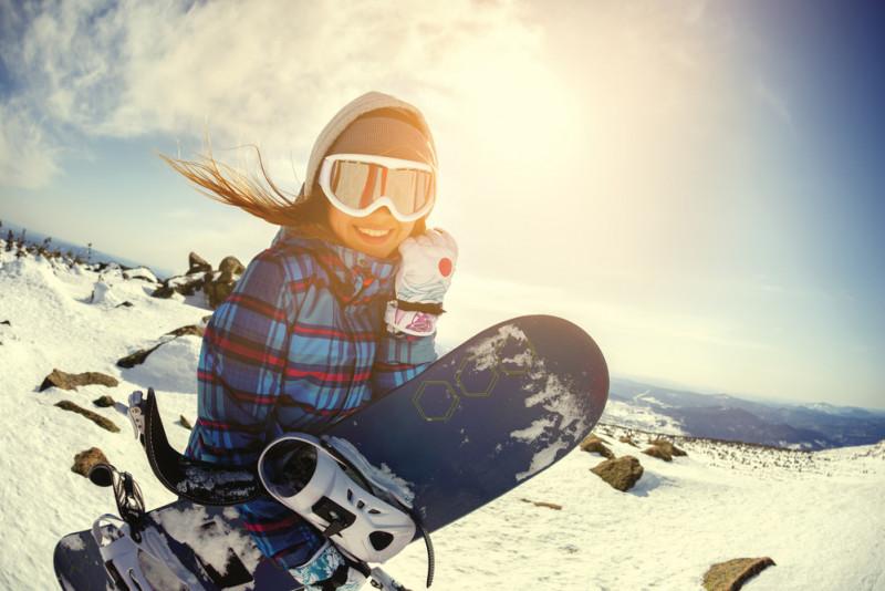 Come sciolinare la tavola da snowboard