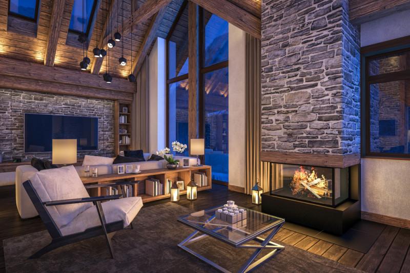 Come Arredare Il Salotto In Una Casa In Montagna Tutto Per Casa