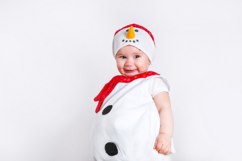 Come fare un costume da pupazzo di neve