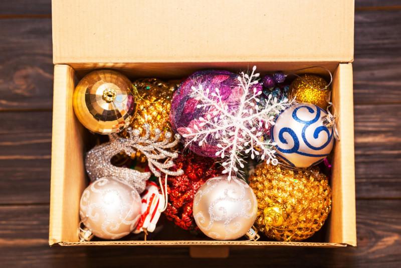 Come conservare le decorazioni natalizie