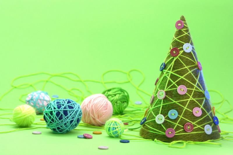 Come realizzare un albero di Natale di filo