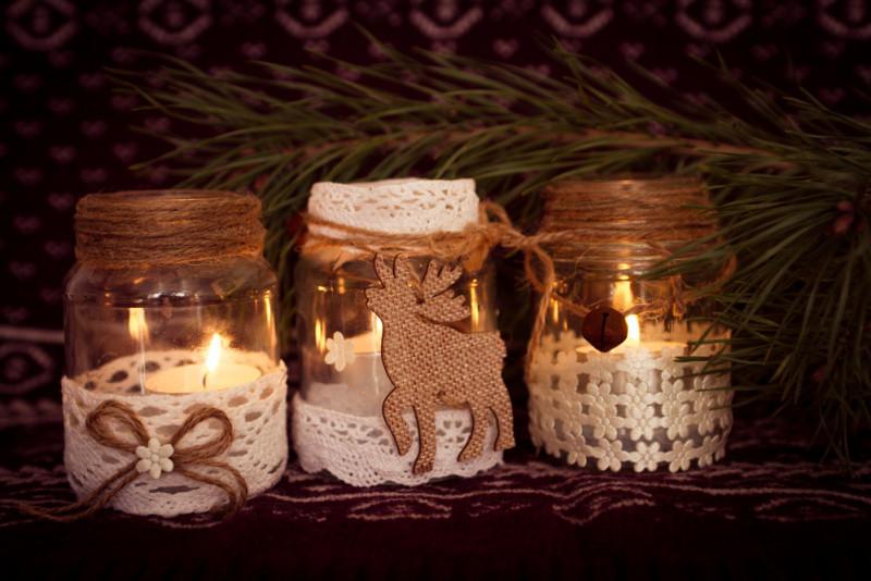 Come Creare Dei Regali Di Natale Con I Vasetti Di Vetro Fai Da Te