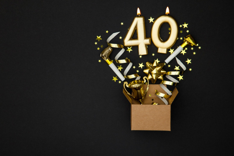 5 modi per festeggiare i 40 anni