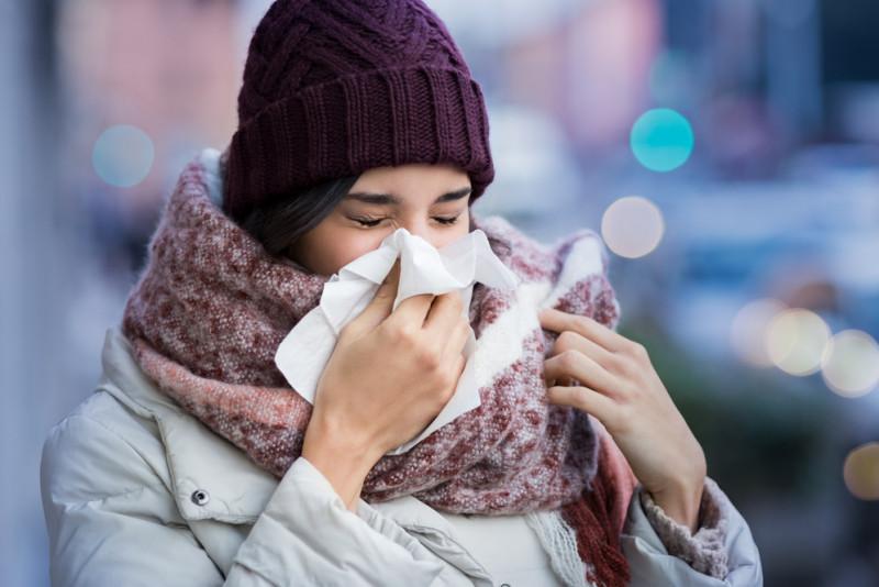10 segnali che sta per arrivare il raffreddore