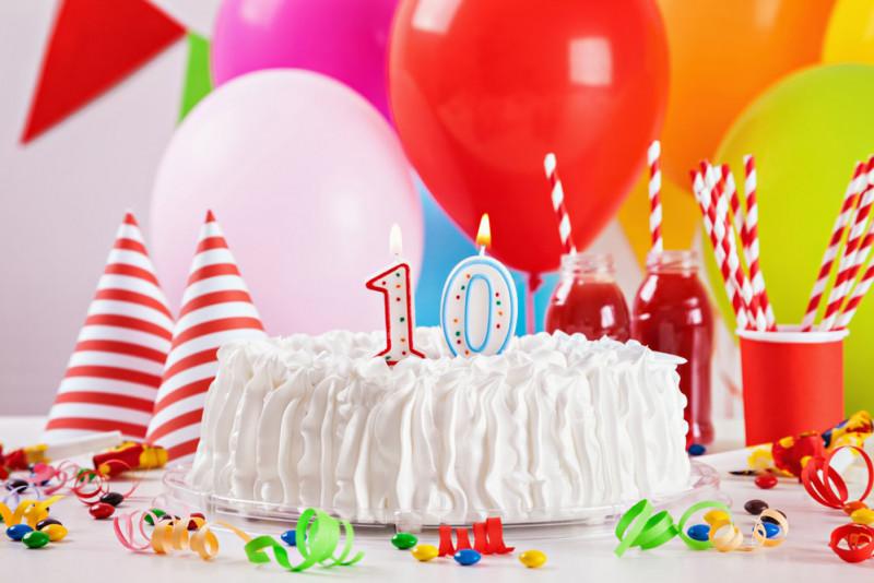 Idee per festeggiare i dieci anni di una bambina