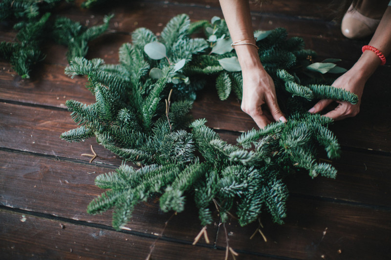 Come realizzare una ghirlanda di Natale