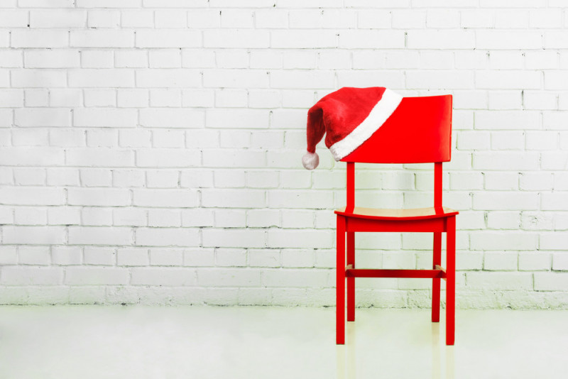Come realizzare i copri sedia natalizi