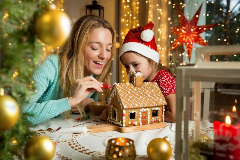 Ricetta natalizia col Bimby: casetta di pan di zenzero