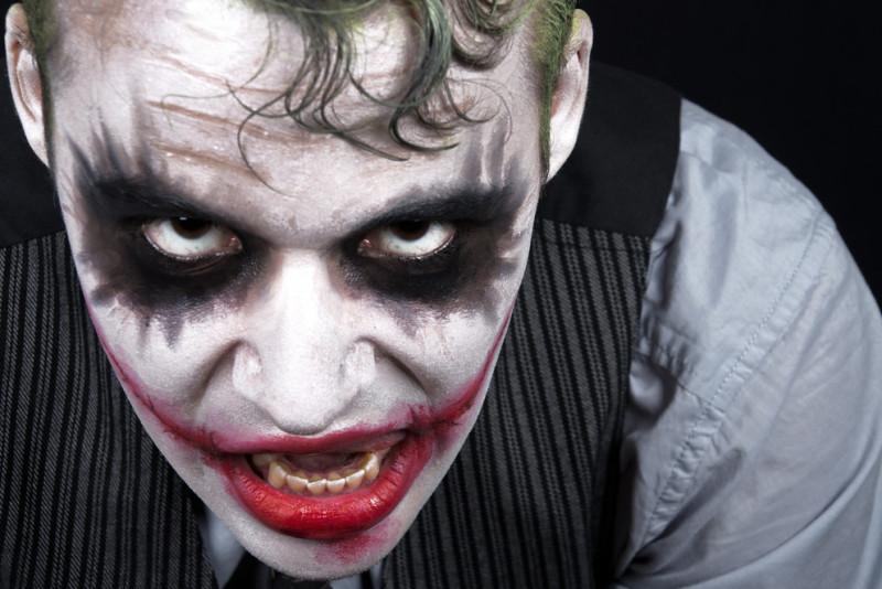 Come fare il trucco da Joker per Carnevale
