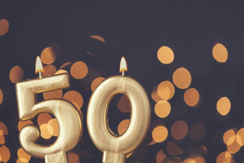 Come festeggiare il cinquantesimo compleanno