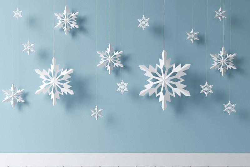 Fiocchi Di Neve Di Carta Facili : Come fare fiocchi di neve per decorare le finestre fai da te mania