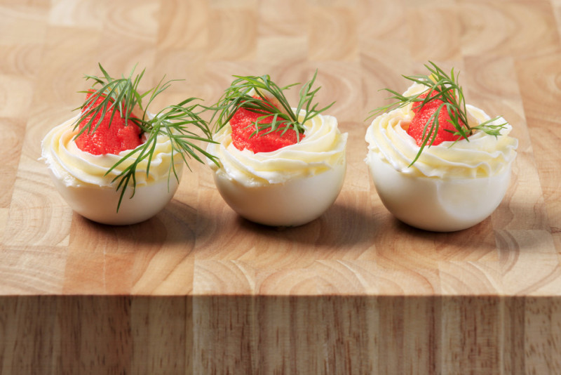 3 idee per antipasti pasquali con uova sode