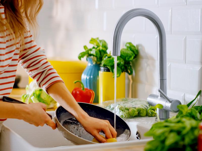 Come lavare correttamente i piatti