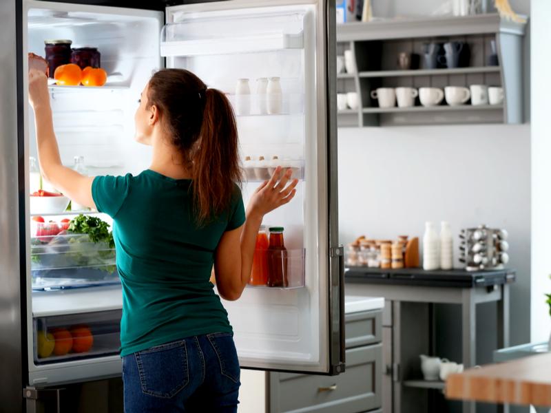 Come posizionare gli alimenti in frigo