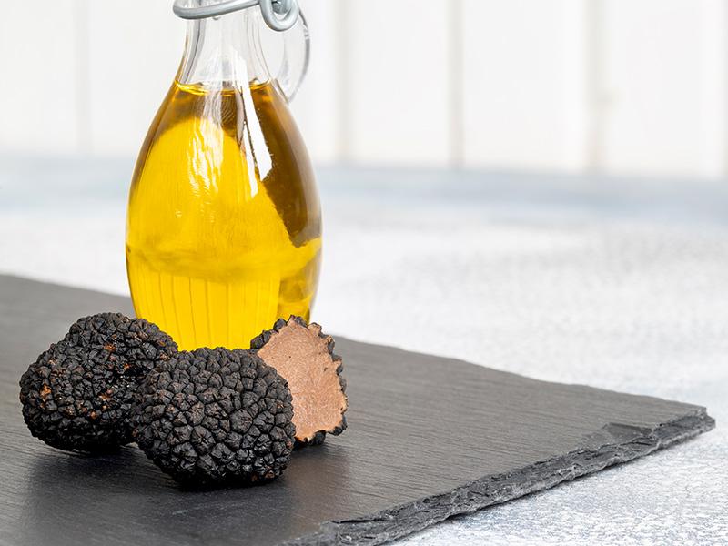 Come fare l'olio al tartufo