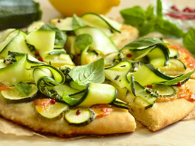 Come fare la pizza alle zucchine