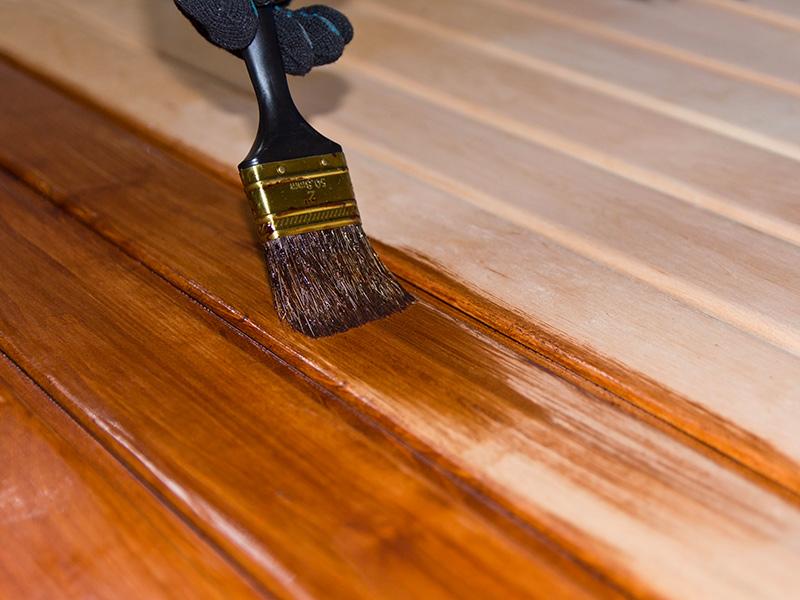 Come laccare il legno