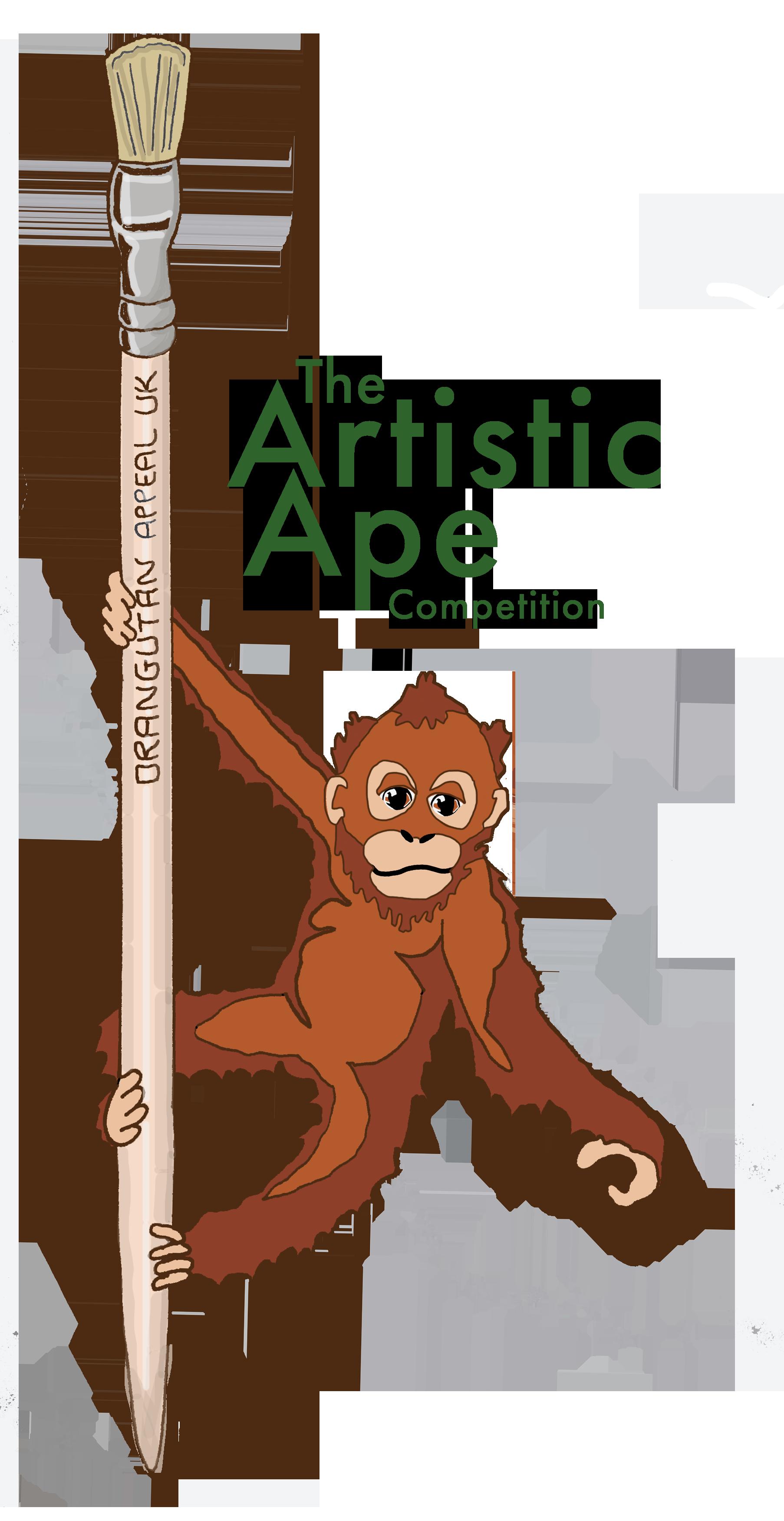 Artistic Ape Logo