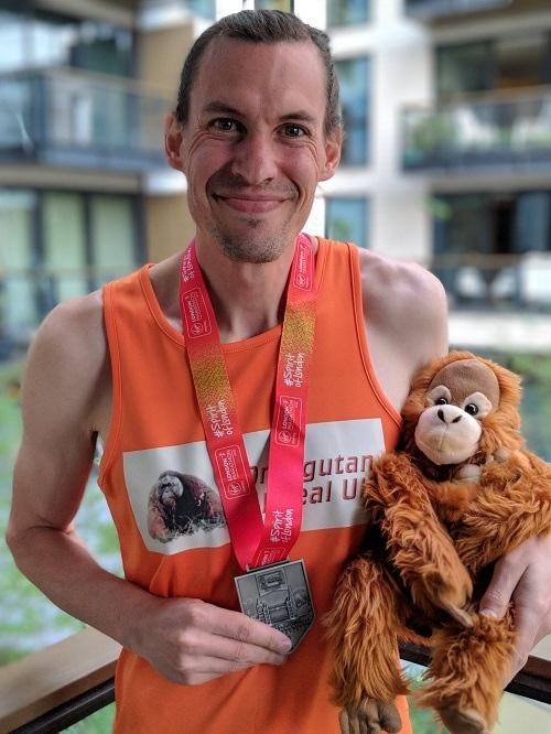 Small Dale Schultz Orangutan Appeal Uklondon Marathon 1