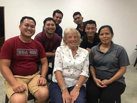Sue And Sepilok Team