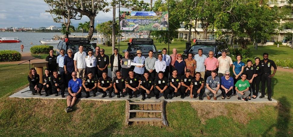 Vehicle Presentation Group Photo