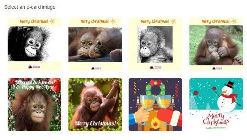 Christmas E Cards Selection