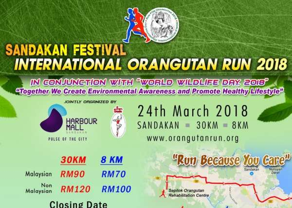Run For The Orangutan 2018 Image