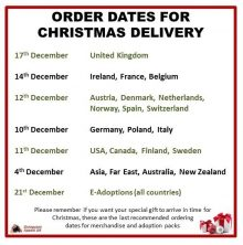 Order Dates For Christmas Delivery 2017