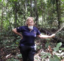 Sue In Jungle