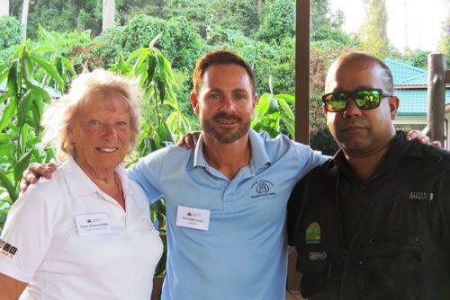 Sue, Nicholas & Dr Sen