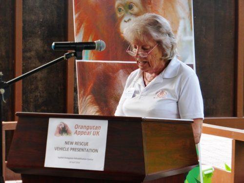 Sue Sheward MBE