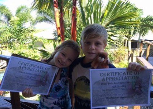 Amy Pianta and Jack Bradley from Australia