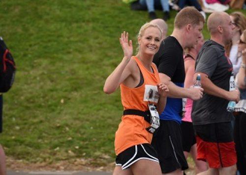 Cheryl Nash at the Great North Run