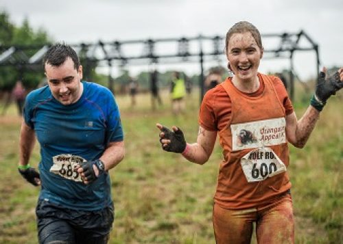 Heather Hopkinson at the Wolf Run obstacle race