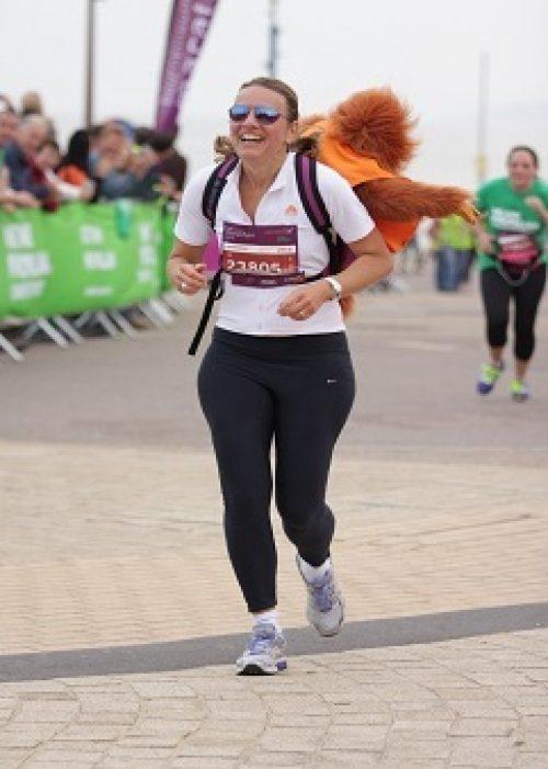 Heike Heinzelmann at the Bournemouth 10k