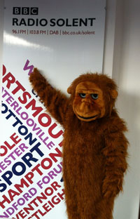 Look who visited the Radio Solent offices today