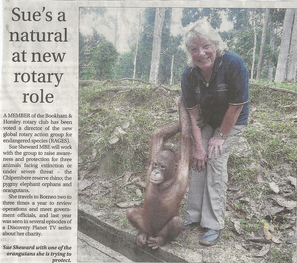Surrey Advertiser Sue  Rages Oct 2016