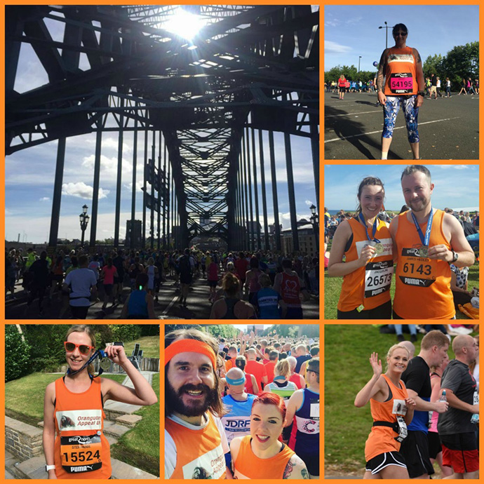 Our Great North Run Team